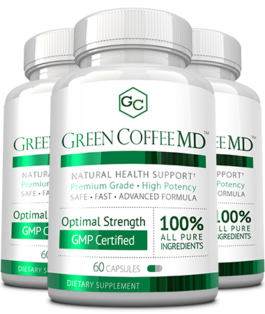 Green Coffee MD Bottle