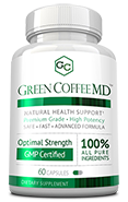 Green Coffee MD Small Bottle